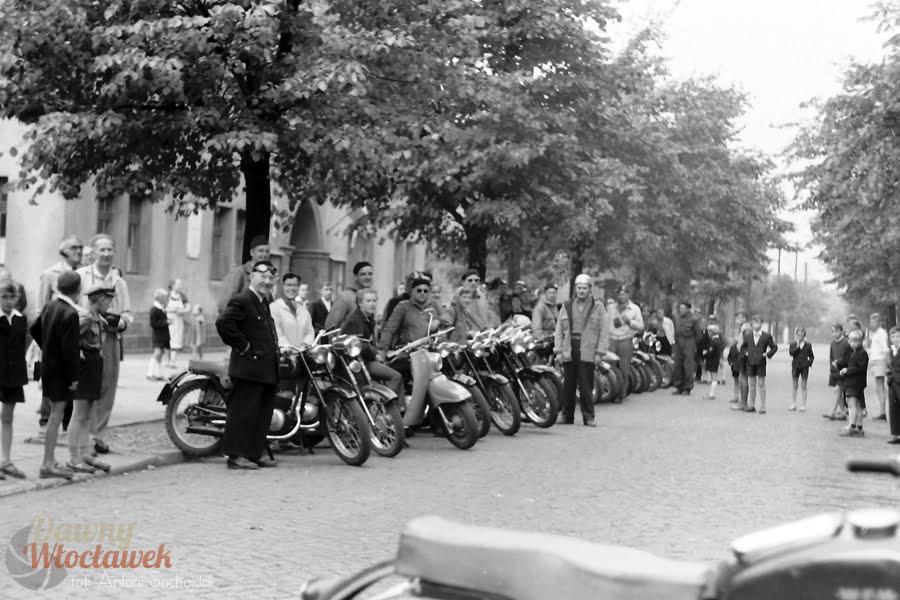 Dawny Włocławek - Motocyklowy rajd PTTK