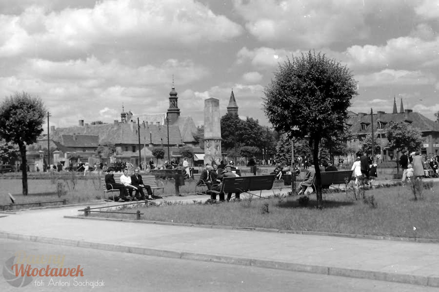 Dawny Włocławek - Plac Wolności