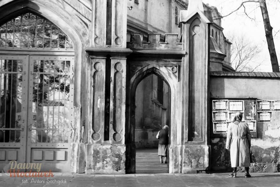 Dawny Włocławek - Klasztor Franciszkanów, brama