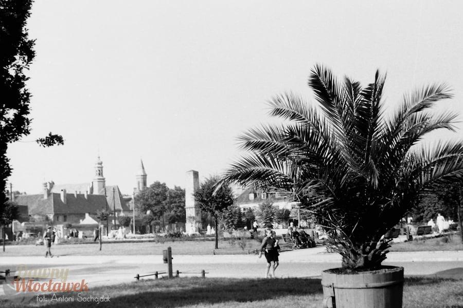 Dawny Włocławek - archiwalne zdjęcia Włocławka. Plac Wolności.