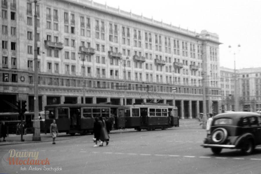 Warszawa - Plac. Fotografia archiwalna.
