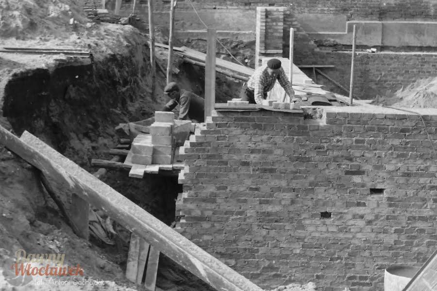 Budowa Domu Rzemiosła we Włocławku - Dawny Włocławek