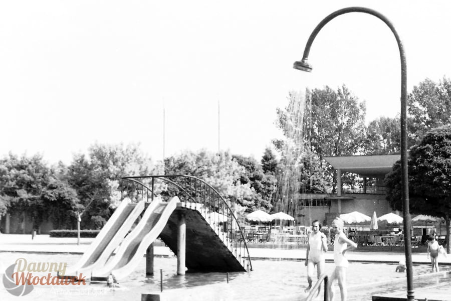 Dawny... Ciechocinek - basen