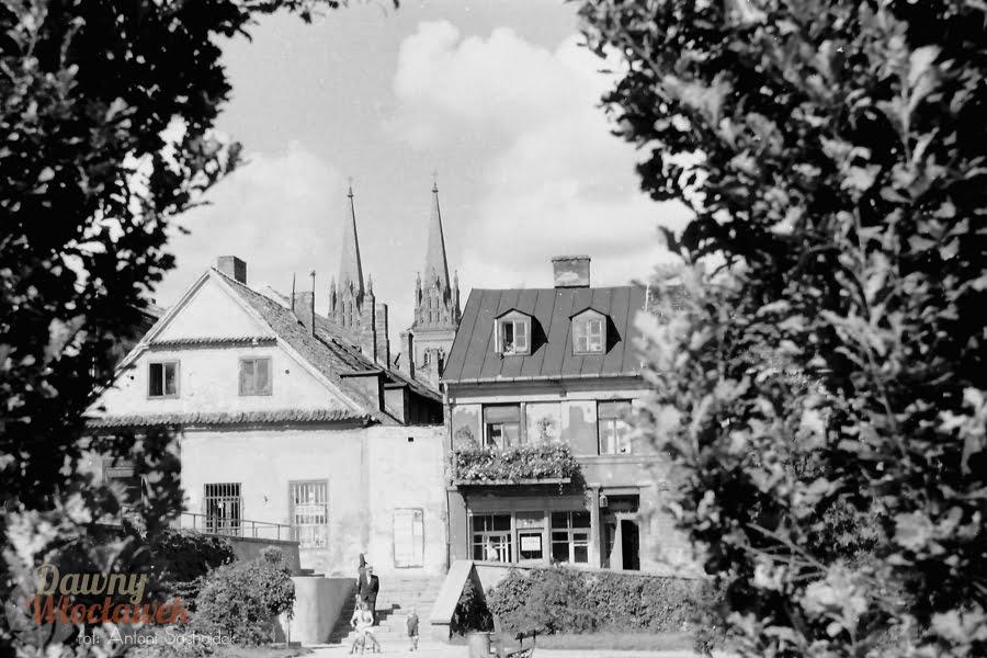 Dawny Włocławek - Widok na katedrę