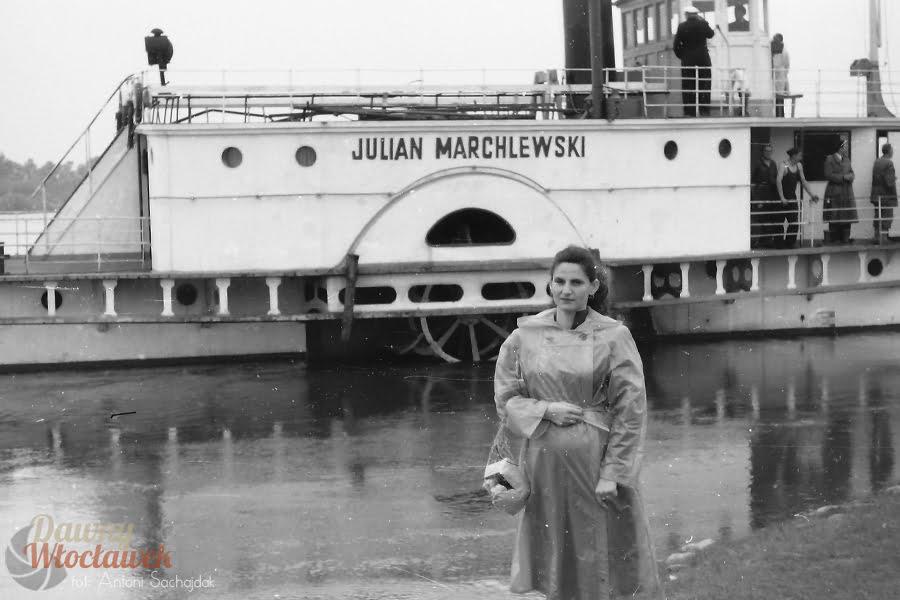 Dawny Włocławek - Statki na Wiśle