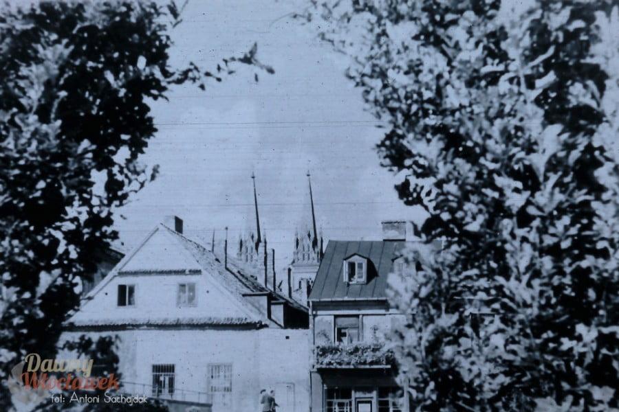 Dawny Włocławek - Katedra widziana ze Starego Rynku