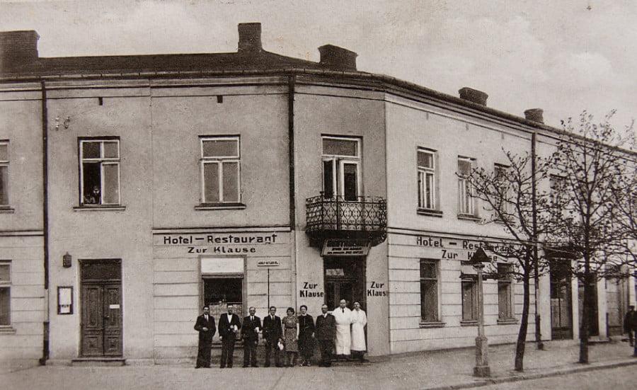 Dawny Włocławek - Adolf Hitler Pl.- Zielony Rynek 1940 r.