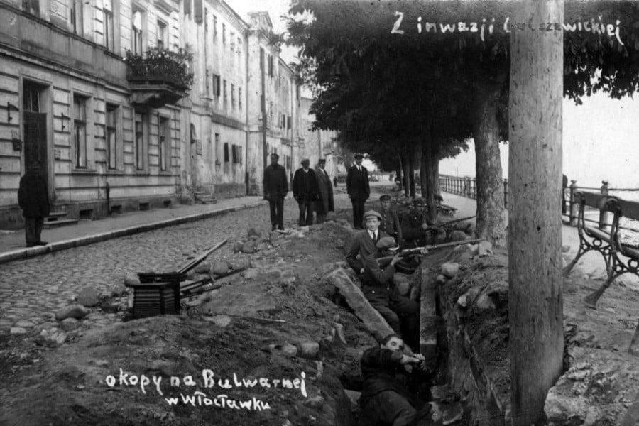Dawny Włocławek - Bulwary 1920 r.