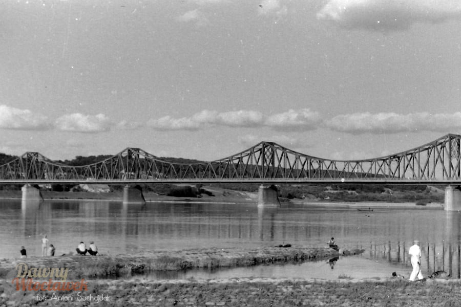 Włocławek, most stalowy