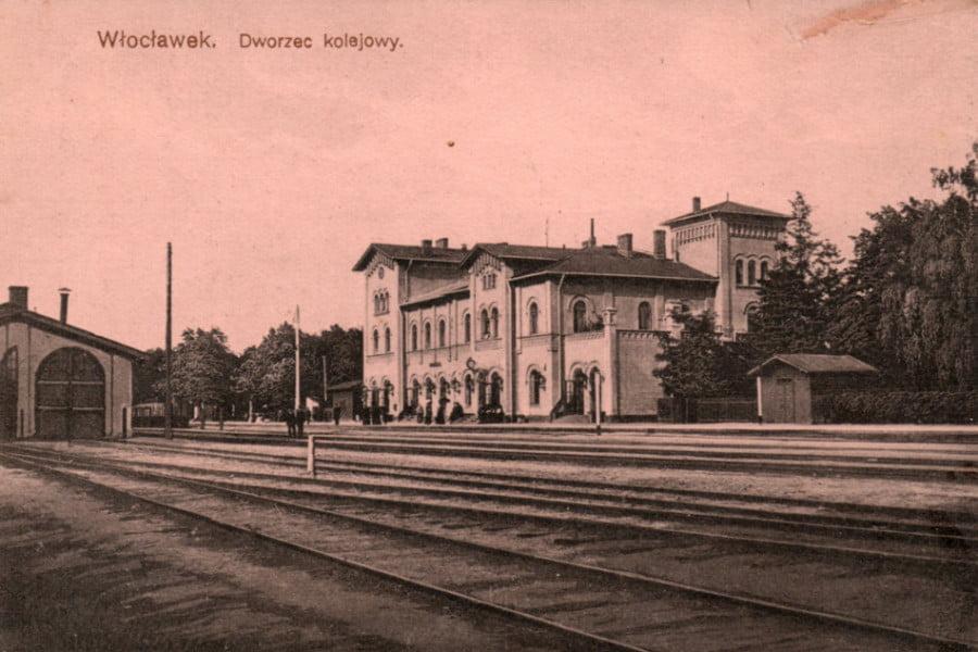 Dawny Włocławek - Dworzec PKP
