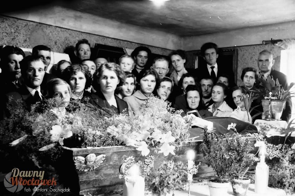 Dawny Włocławek - pogrzeb Lena Ciesielskiego