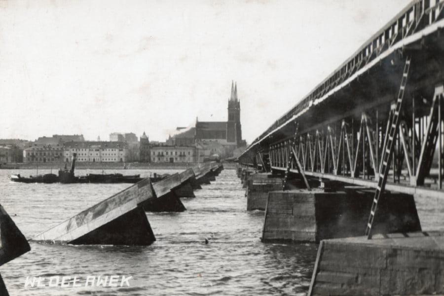 Dawny Włocławek - Stary Most z bliska
