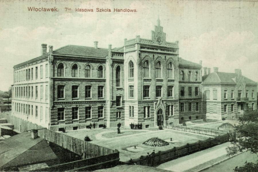 Dawny Włocławek - Szkoła Handlowa