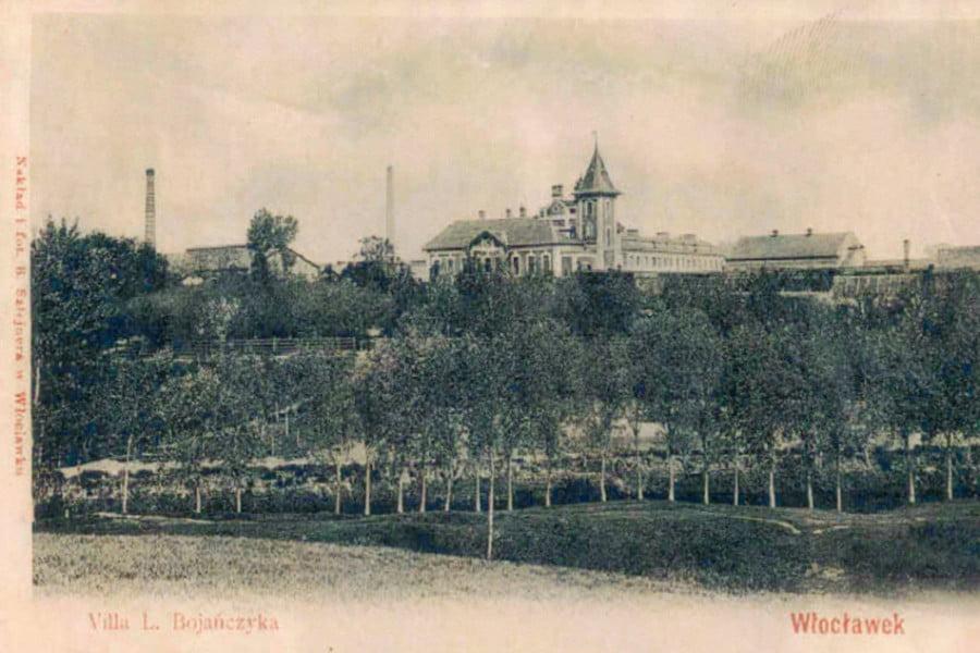 Dawny Włocławek - Willa L. Bojańczyka