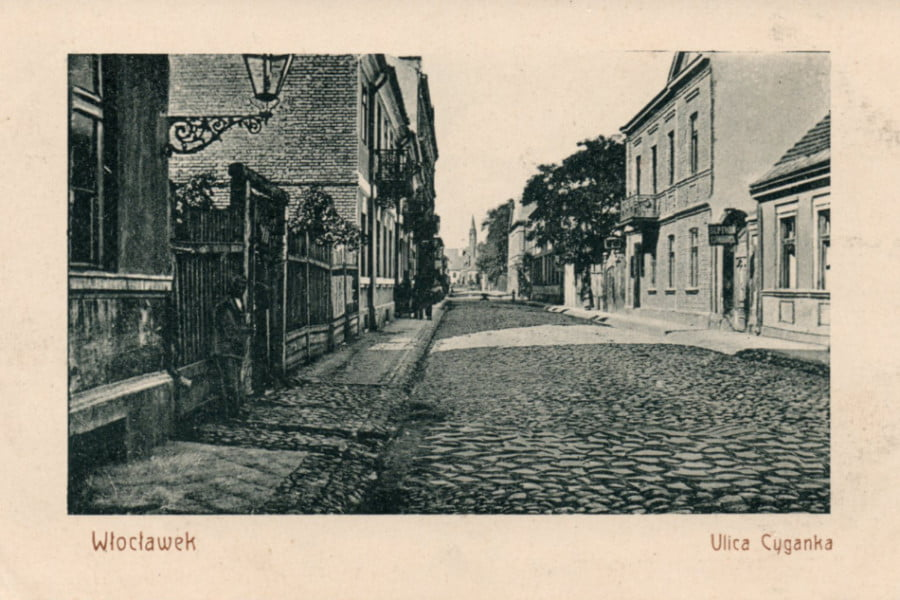 Dawny Włocławek - ul. Cyganka
