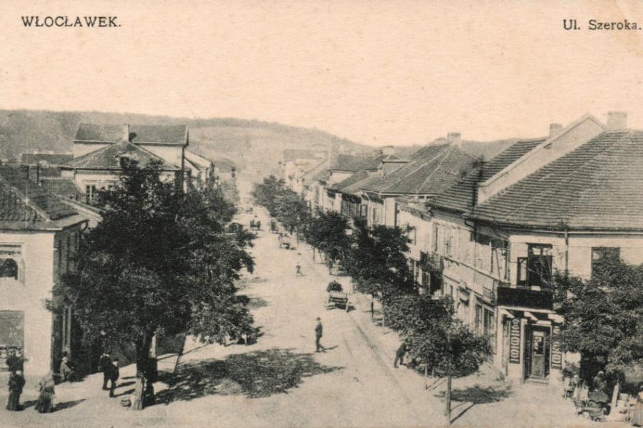 Dawny Włocławek - ul. Szeroka