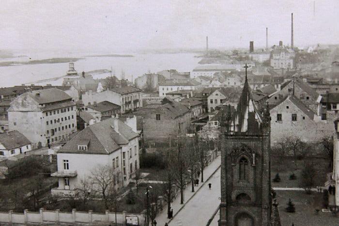 Dawny Włocławek - widok Z katedry 1