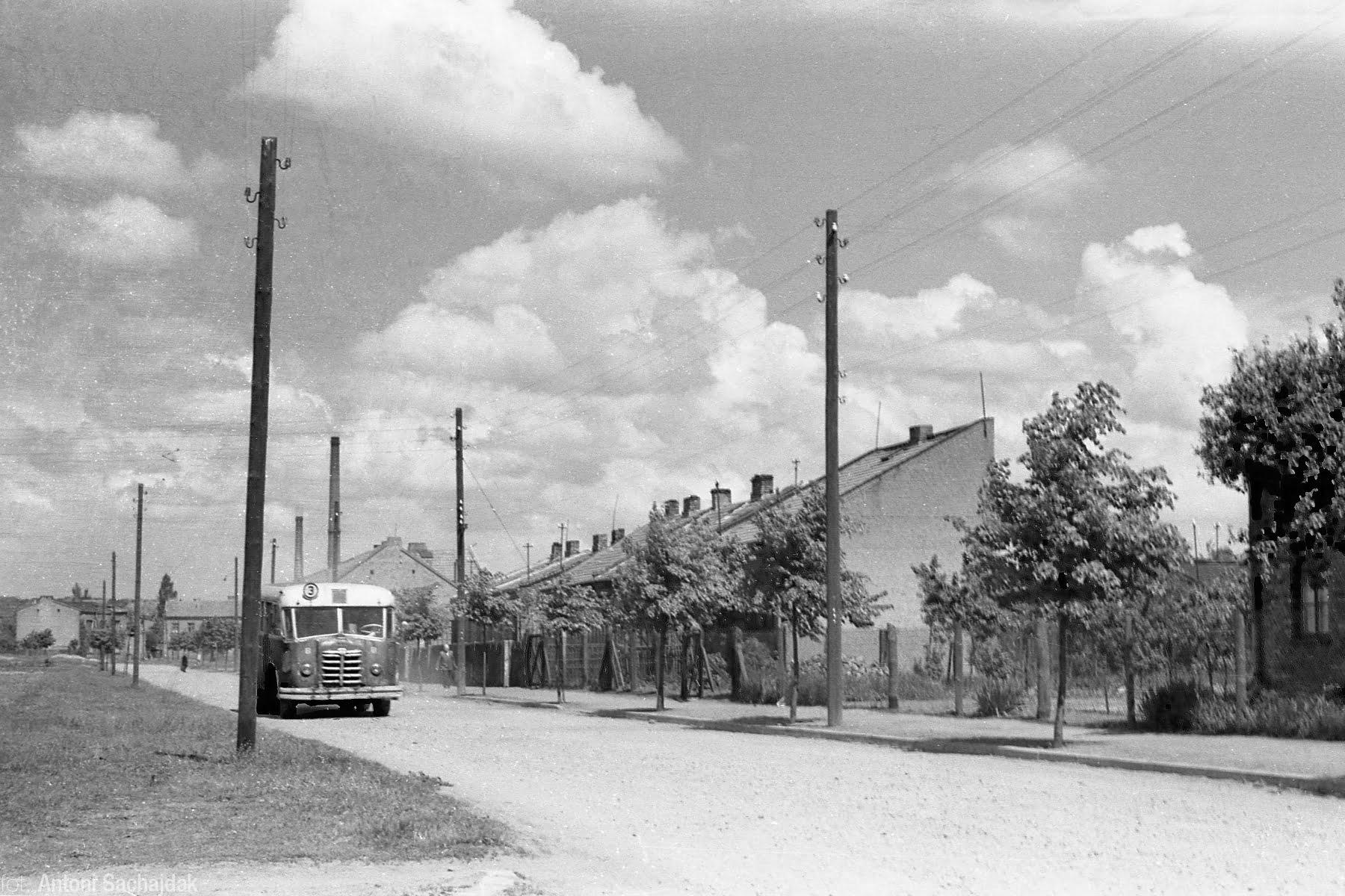 Autobus na ul. Płockiej