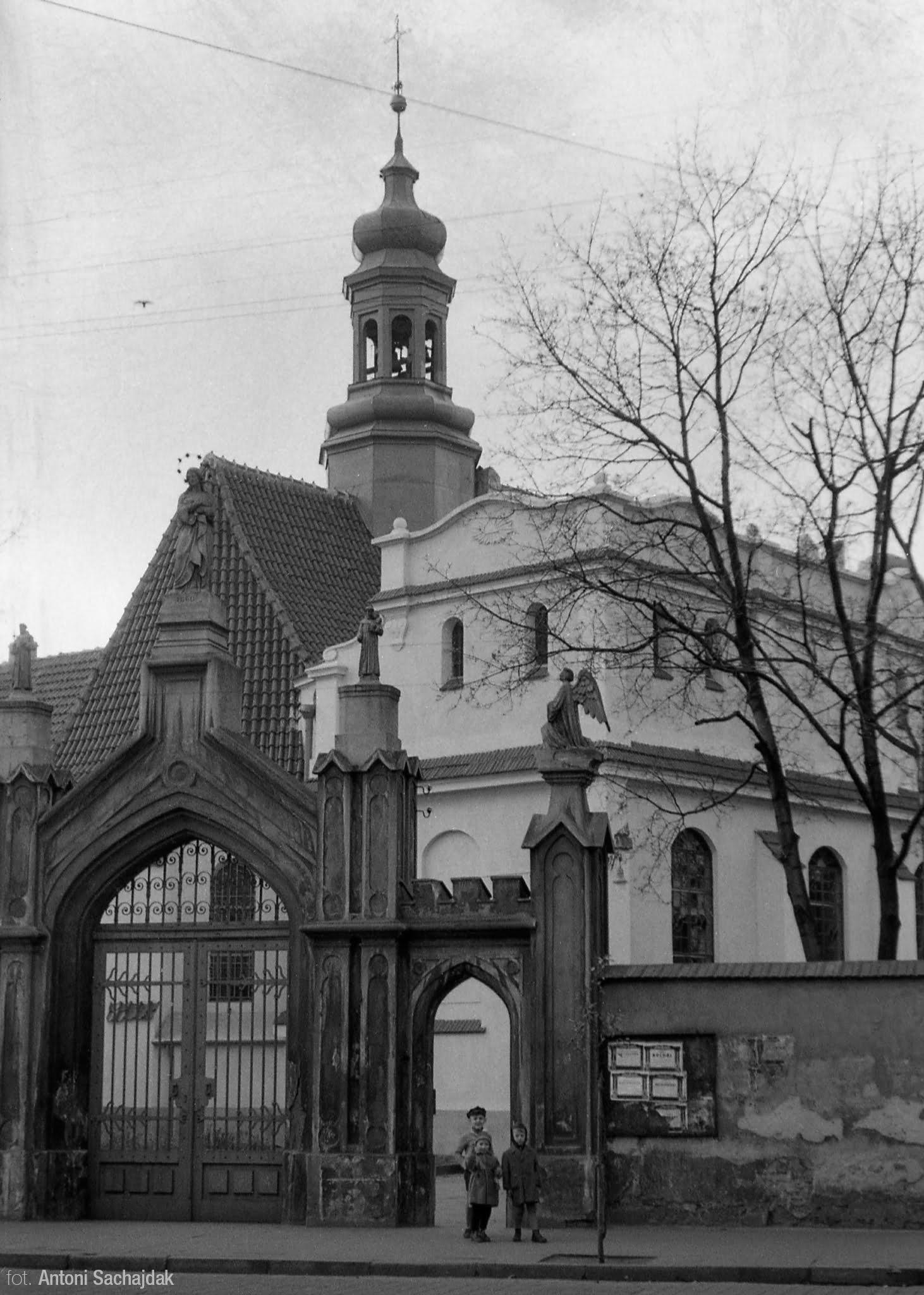 Brama klasztoru
