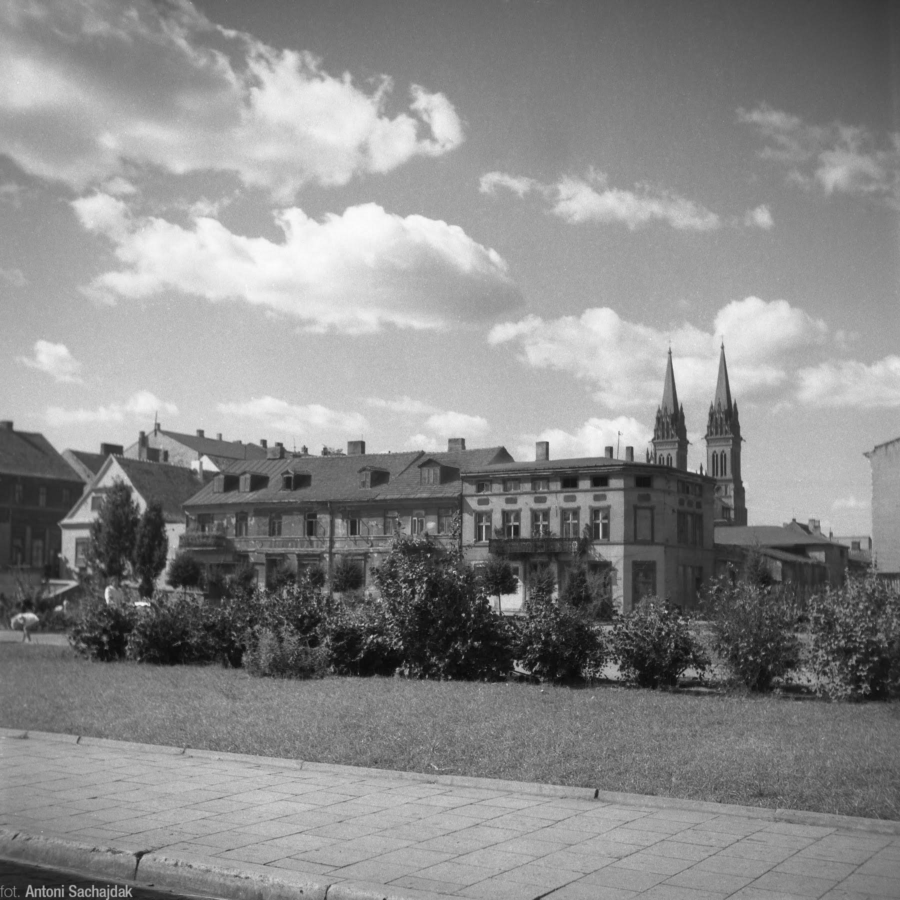 Kamienice na Starym Rynku